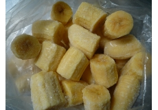 Frozen Banana Cut